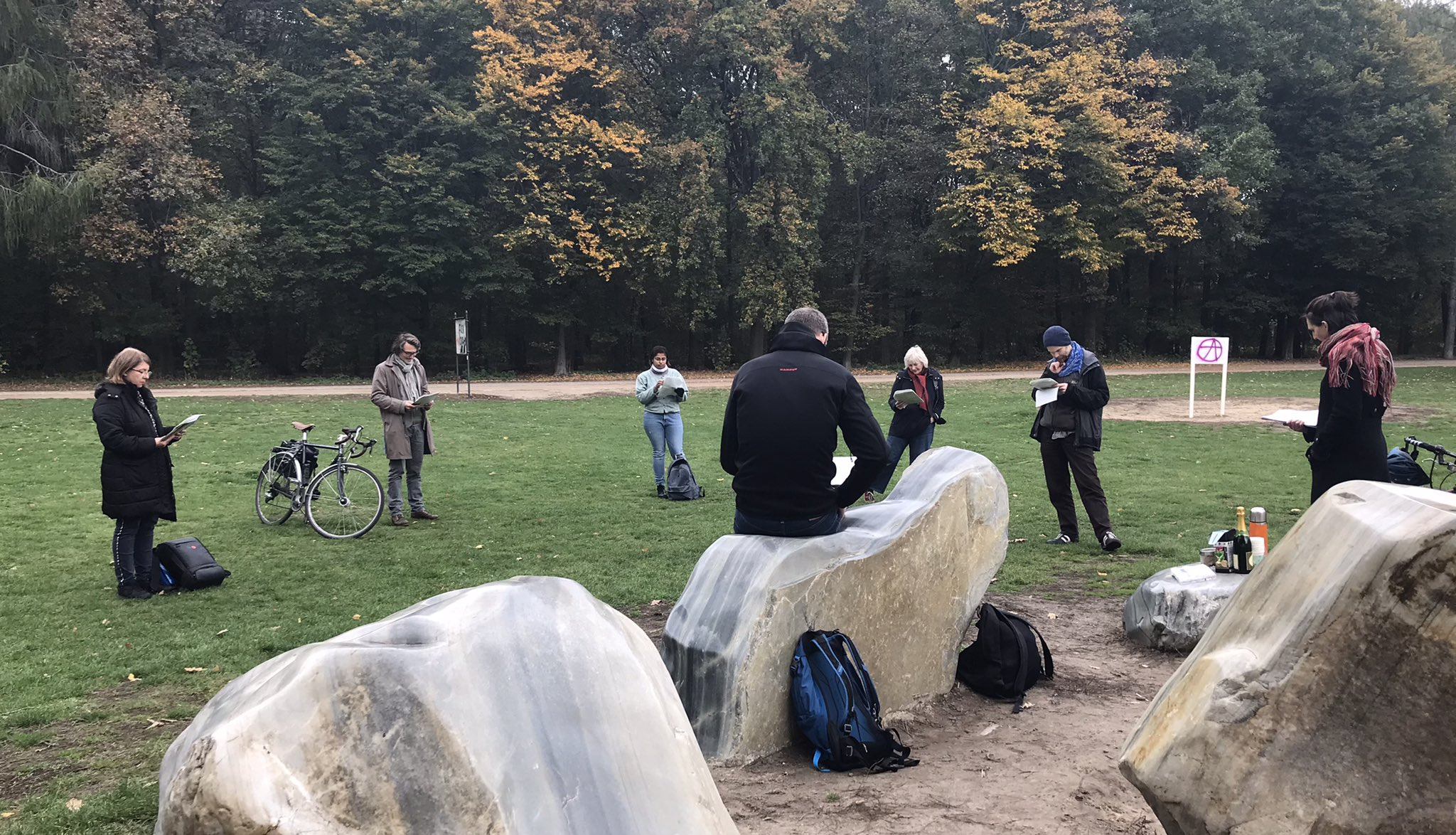 Global Stone Project in Tiergarten
